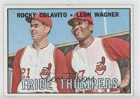 Tribe Thumpers (Rocky Colavito, Leon Wagner)
