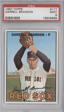 1967 Topps #117 - Darrell Brandon [PSA9]