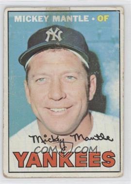 1967 Topps #150 - Mickey Mantle [PoortoFair]