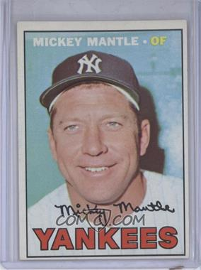 1967 Topps #150 - Mickey Mantle