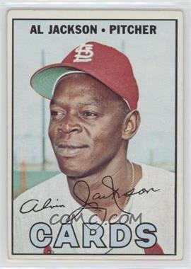 1967 Topps #195 - Al Jackson [GoodtoVG‑EX]