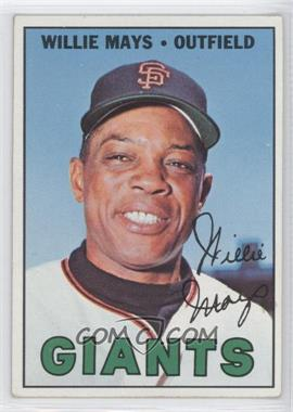 1967 Topps #200 - Willie Mays