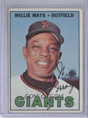 1967 Topps #200 - Willie Mays [Good to VG‑EX]