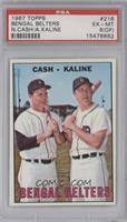 Norm Cash, Al Kaline [PSA6(OF)]