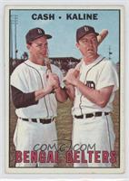 Norm Cash, Al Kaline [Good to VG‑EX]
