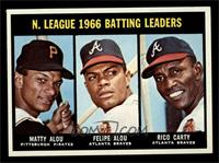 N. League Batting Leaders (Matty Alou, Felipe Alou, Rico Carty) [NM MT]
