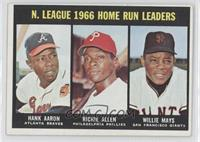 Hank Aaron, Dick Allen, Willie Mays