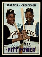 Willie Stargell, Donn Clendenon [NM MT]