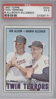 Bob Allison, Harmon Killebrew [PSA 5]