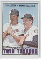 Bob Allison, Harmon Killebrew