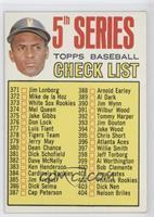 5th Series Check List (Roberto Clemente)