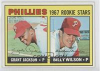 Grant Jackson, Bill Wilson (Incomplete Line under Stats on Back) [Good to&…