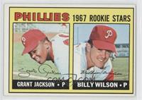 Grant Jackson, Bill Wilson (Incomplete Line under Stats on Back)