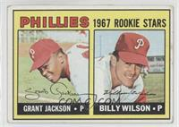 Grant Jackson, Bill Wilson (Complete Line under Stats on Back) [Good to&nb…