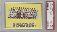 Washington Senators Team [PSA 8]