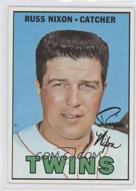 1967 Topps #446 - Russ Nixon
