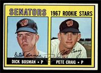 Dick Bosman, Pete Craig [EX]