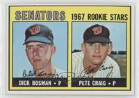 Dick Bosman, Pete Craig