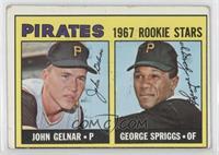 Pirates Rookie Stars (John Gelnar, George Spriggs) [GoodtoVG‑…