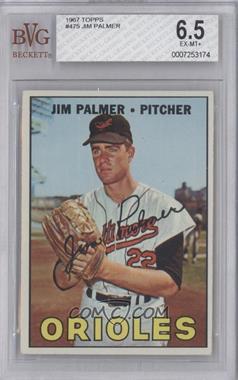 1967 Topps #475 - Jim Palmer [BVG6.5]