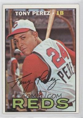 1967 Topps #476 - Tony Perez