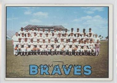 1967 Topps #477 - Atlanta Braves Team [GoodtoVG‑EX]