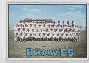 1967 Topps #477 - Atlanta Braves Team [Good to VG‑EX]