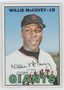1967 Topps #480 - Willie McCovey