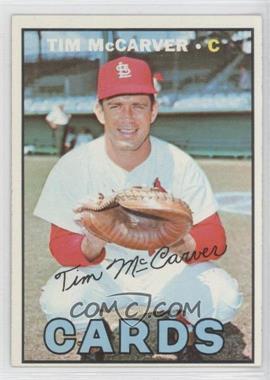 1967 Topps #485 - Tim McCarver