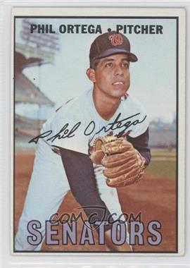 1967 Topps #493 - Phil Ortega [GoodtoVG‑EX]