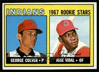 Indians Rookie Stars (George Culver, Jose Vidal) [EX MT]