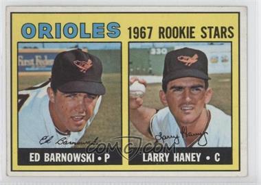 1967 Topps #507 - Ed Barnowski, Larry Haney