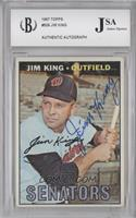 Jim King [JSA Certified Auto]