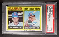 Joe Niekro, Paul Popovich [PSA 5]