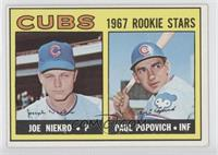 Joe Niekro, Paul Popovich [Good to VG‑EX]