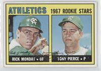 Rick Monday, Tony Pierce [Good to VG‑EX]