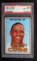 Ted Savage [PSA 8]