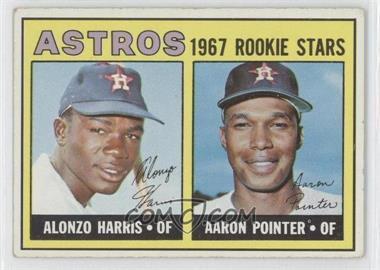 1967 Topps #564 - Aaron Pointer, Alonzo Harris