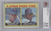 A. League Rookie Stars (Rod Carew, Hank Allen) [BVG 3.5]