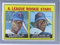 A. League Rookie Stars (Rod Carew, Hank Allen) [Altered]
