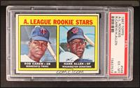 A. League Rookie Stars (Rod Carew, Hank Allen) [PSA 6]