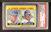 A. League Rookie Stars (Rod Carew, Hank Allen) [PSA 8]