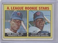 A. League Rookie Stars (Rod Carew, Hank Allen) [PoortoFair]