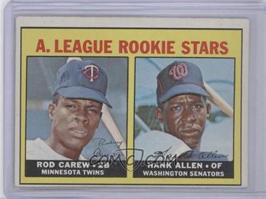 1967 Topps #569 - A. League Rookie Stars (Rod Carew, Hank Allen)