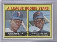 A. League Rookie Stars (Rod Carew, Hank Allen)