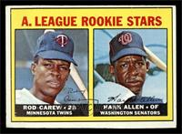 A. League Rookie Stars (Rod Carew, Hank Allen) [EX]