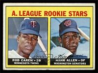 A. League Rookie Stars (Rod Carew, Hank Allen) [VG]