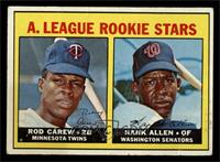 A. League Rookie Stars (Rod Carew, Hank Allen) [GOOD]