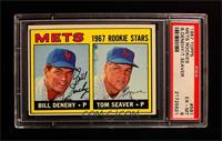 Bill Denehy, Tom Seaver [PSA 6]