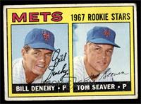 Bill Denehy, Tom Seaver [VG]